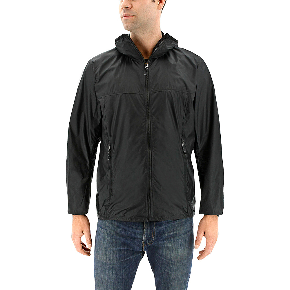 adidas outdoor Mens Mistral Wind Jacket S - Black - adidas outdoor Mens Apparel - Apparel & Footwear, Men's Apparel