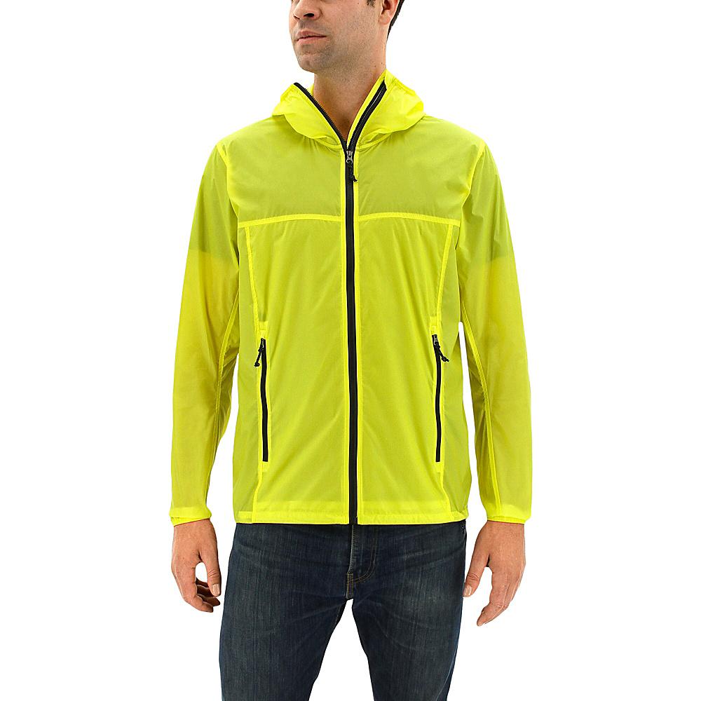 adidas outdoor Mens Mistral Wind Jacket XL - Bright Yellow - adidas outdoor Mens Apparel - Apparel & Footwear, Men's Apparel