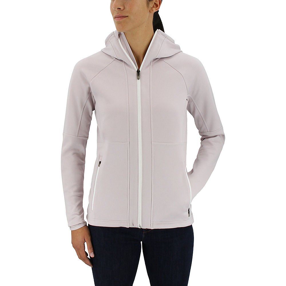 adidas outdoor Womens Flex Fleece Hoodie M - Ice Purple - adidas outdoor Womens Apparel - Apparel & Footwear, Women's Apparel