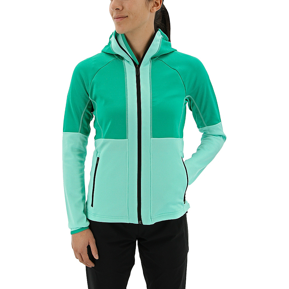 adidas outdoor Womens Flex Fleece Hoodie XL - Core Green - adidas outdoor Womens Apparel - Apparel & Footwear, Women's Apparel
