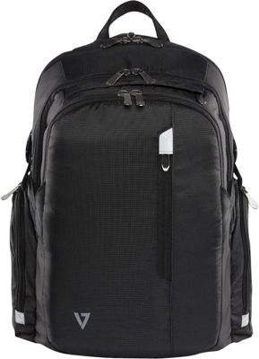 V7 16 inch Elite Laptop and Tablet Backpack Black - V7 Laptop Backpacks