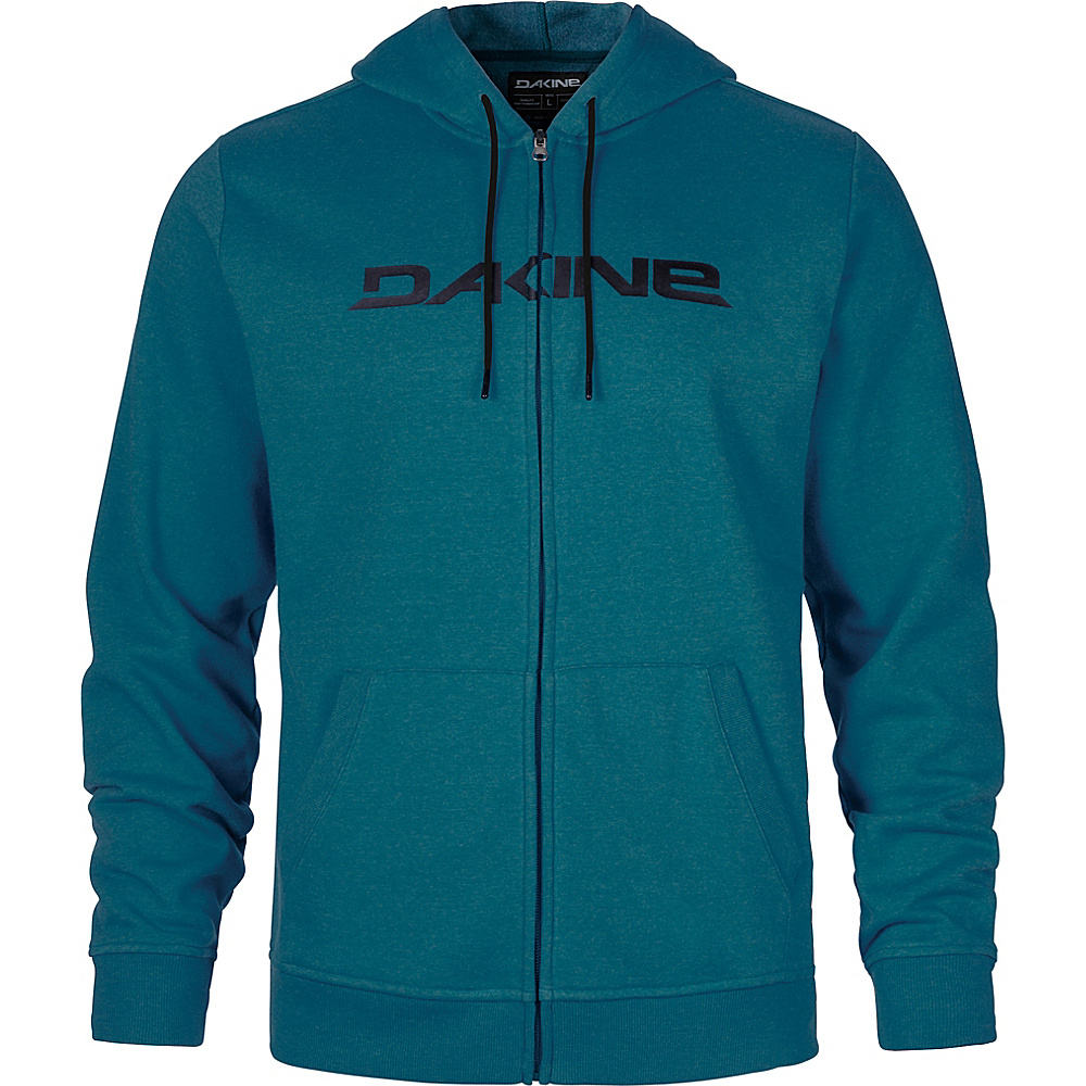 DAKINE Mens Rail Hooded Fleece S - Ink Blue - DAKINE Mens Apparel - Apparel & Footwear, Men's Apparel