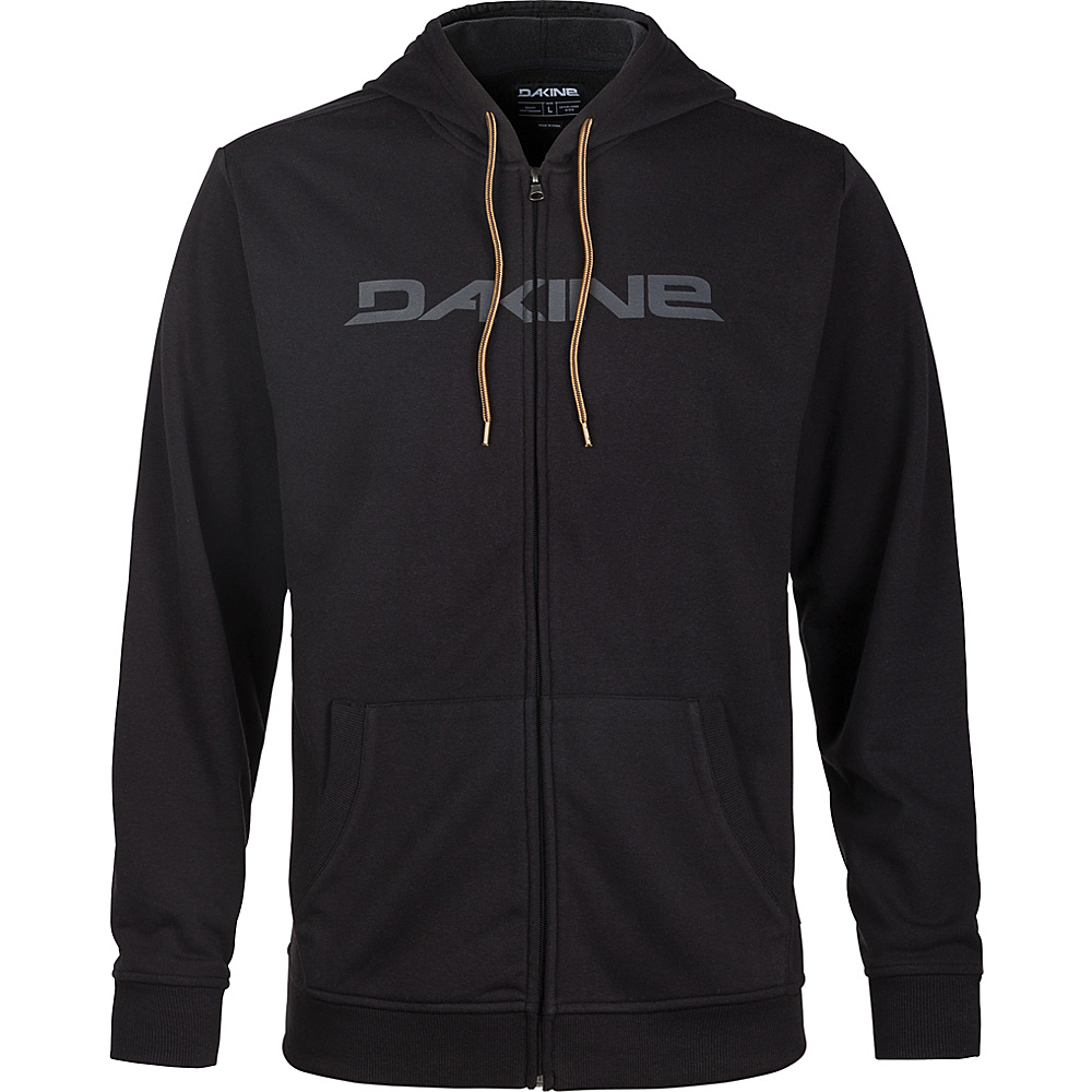 DAKINE Mens Rail Hooded Fleece XXL - Black - DAKINE Mens Apparel - Apparel & Footwear, Men's Apparel