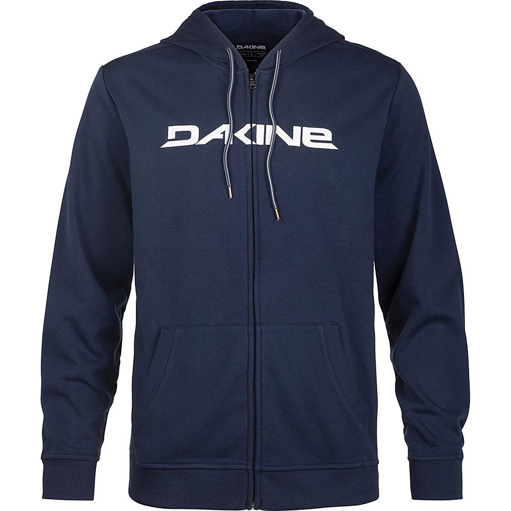 DAKINE Mens Rail Hooded Fleece XL - Midnight/White - DAKINE Mens Apparel - Apparel & Footwear, Men's Apparel