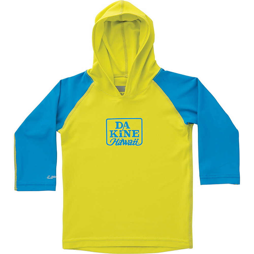 DAKINE Toddler Boys Hooded Long Sleeve 4T - Sulphur - DAKINE Womens Apparel - Apparel & Footwear, Women's Apparel
