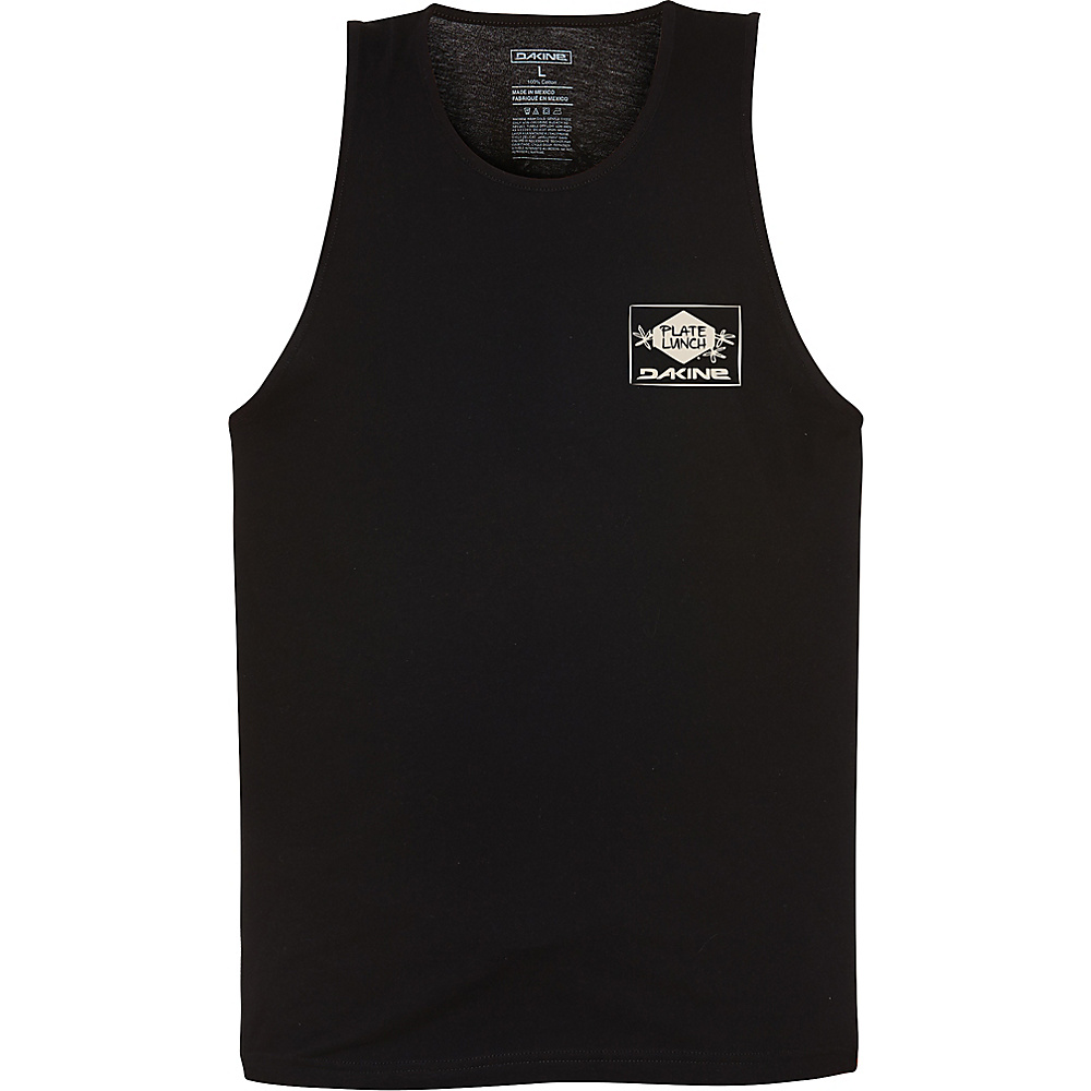 DAKINE Mens Plate Lunch Tank L - Black - DAKINE Mens Apparel - Apparel & Footwear, Men's Apparel