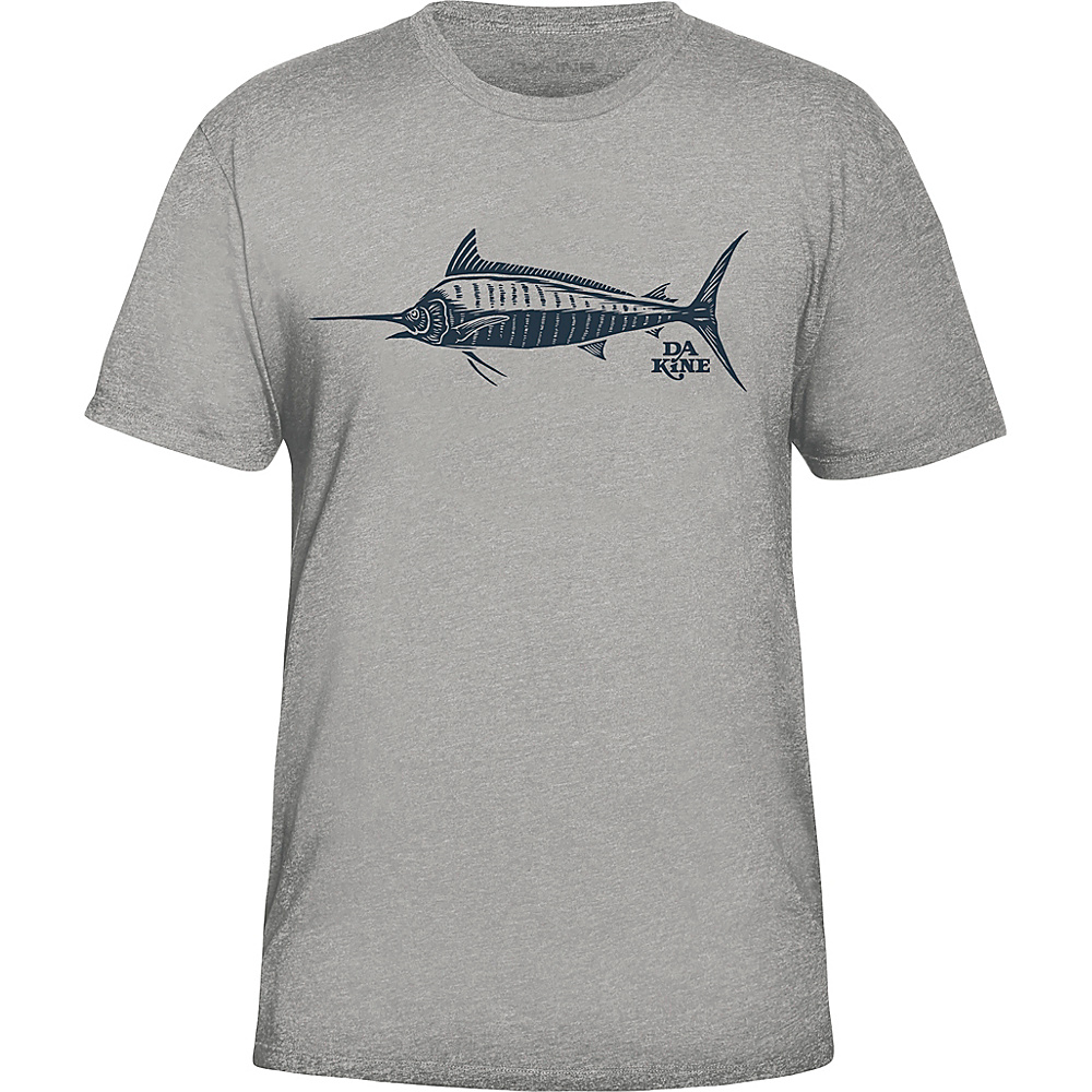 DAKINE Mens Marlin T-Shirt S - Grey Heather - DAKINE Mens Apparel - Apparel & Footwear, Men's Apparel