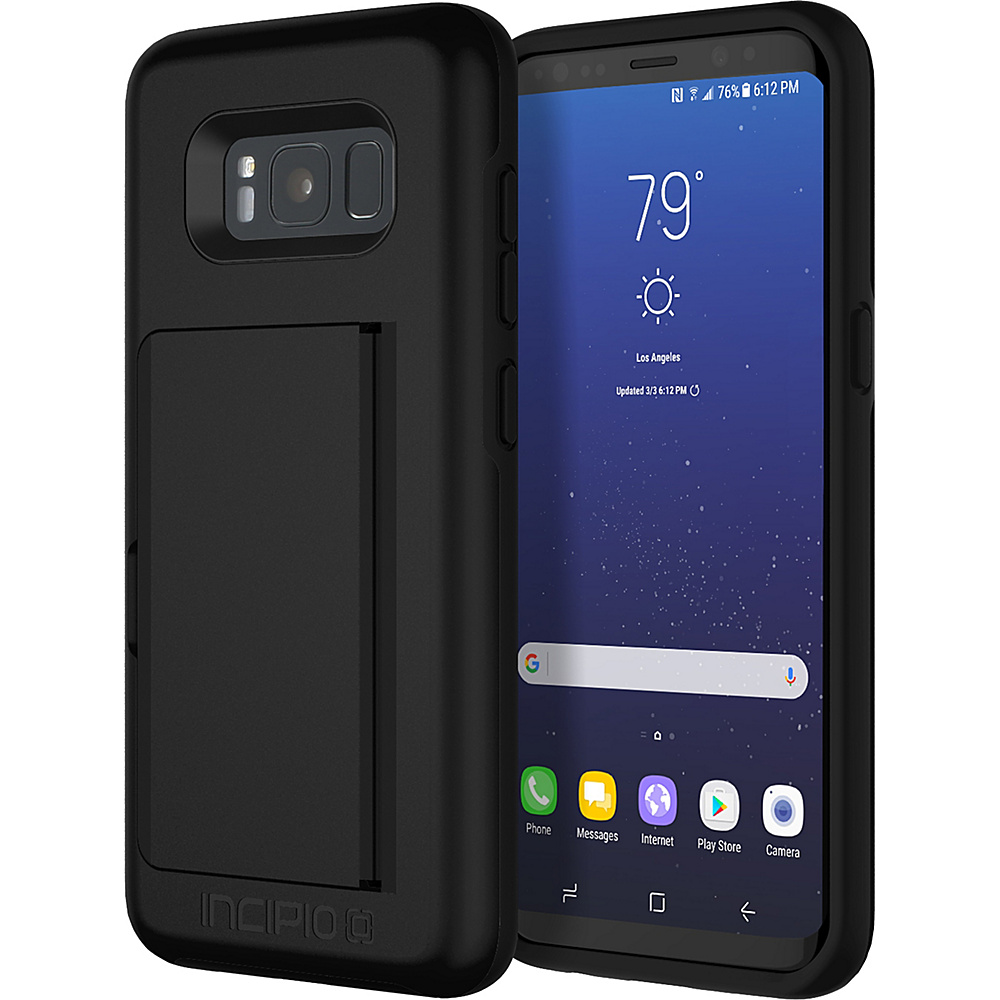 Incipio Stowaway for Samsung Galaxy S8 Black - Incipio Electronic Cases - Technology, Electronic Cases