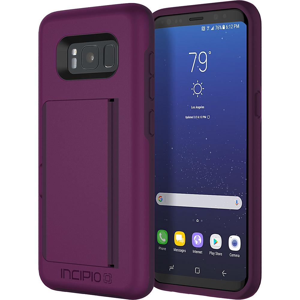 Incipio Stowaway for Samsung Galaxy S8 Plum - Incipio Electronic Cases - Technology, Electronic Cases