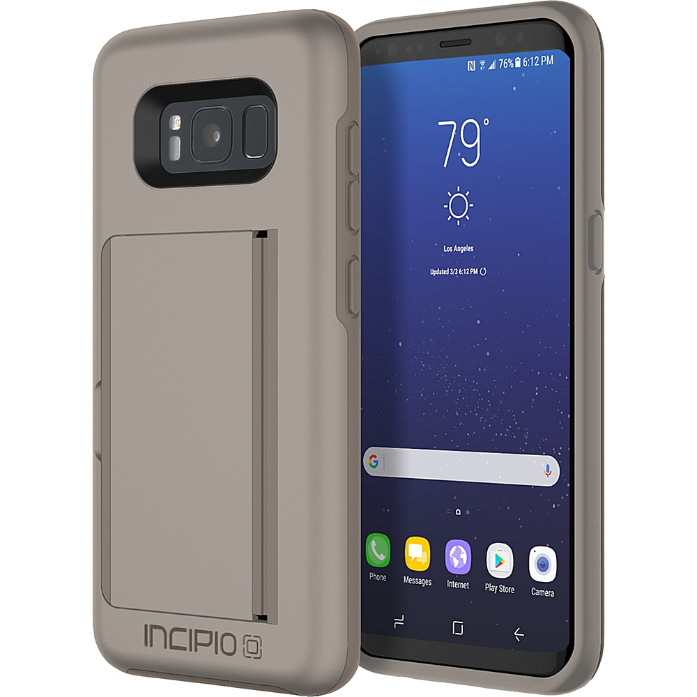 Incipio Stowaway for Samsung Galaxy S8 Sand - Incipio Electronic Cases - Technology, Electronic Cases