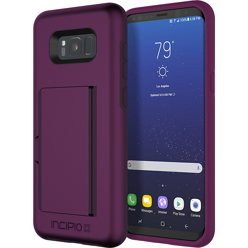 Incipio Stowaway for Samsung Galaxy S8+ Plum - Incipio Electronic Cases - Technology, Electronic Cases