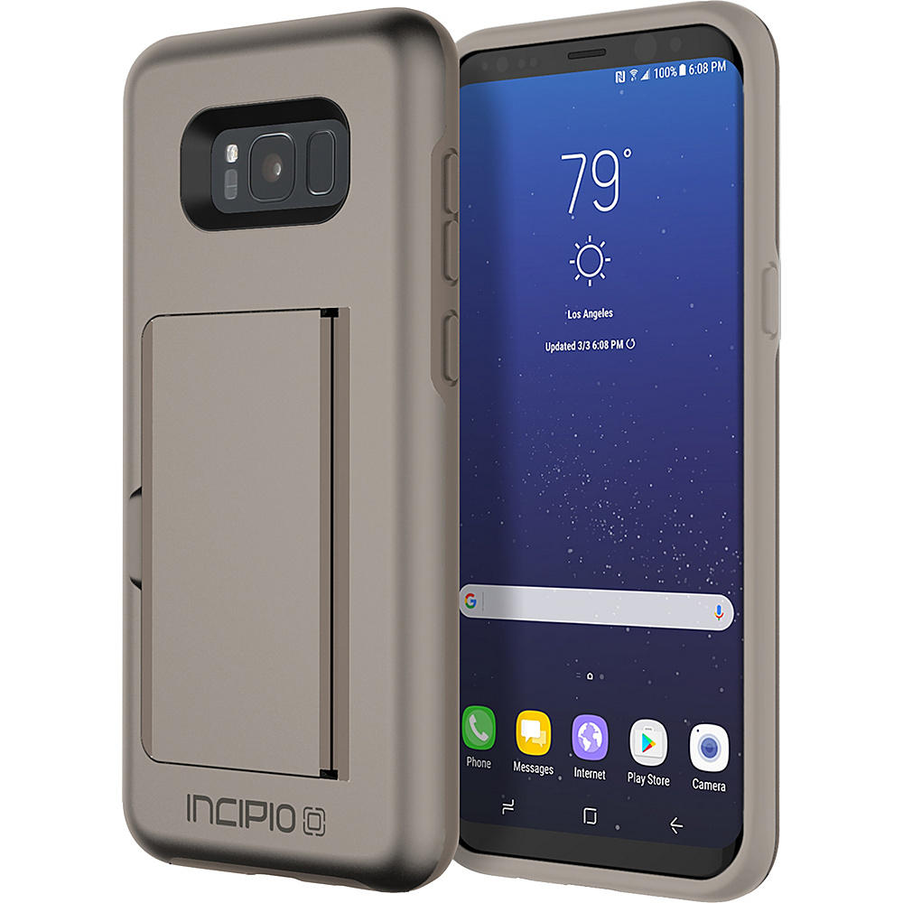 Incipio Stowaway for Samsung Galaxy S8+ Sand - Incipio Electronic Cases - Technology, Electronic Cases