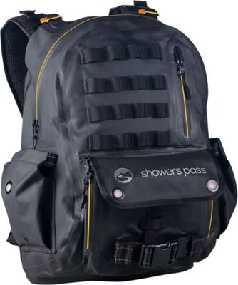 Showers Pass Utility Waterproof Backpack Gold/Black - Showers Pass Laptop Backpacks
