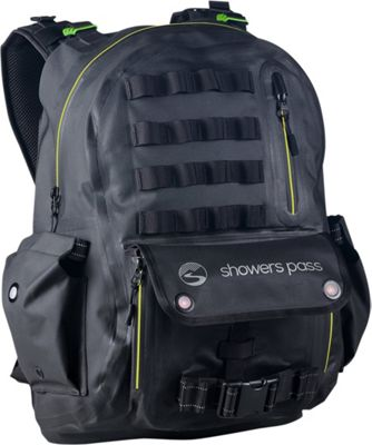 Showers Pass Utility Waterproof Backpack Lime/Black - Showers Pass Laptop Backpacks