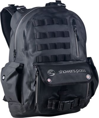 Showers Pass Utility Waterproof Backpack White/Black - Showers Pass Laptop Backpacks