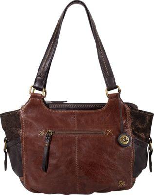 The Sak Kendra Satchel- Seasonal Colors Teak Multi - The Sak Leather Handbags