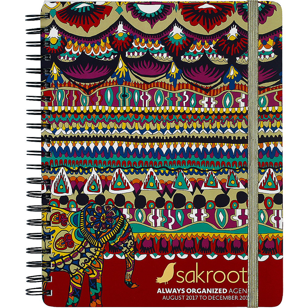Sakroots Artist Circle Always Organized Agenda Camel One World - Sakroots Business Accessories - Work Bags & Briefcases, Business Accessories
