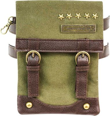 SmarterGarter Lexington 4.0 Hands-Free Purse Military Green - Medium - SmarterGarter Manmade Handbags