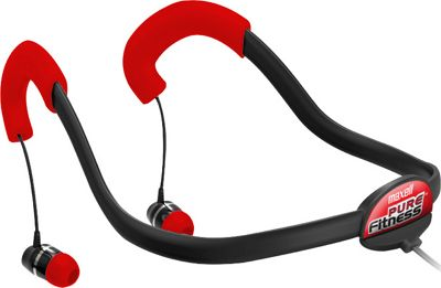 Maxell Pure Fitness Neckbud Black/Red - Maxell Headphones & Speakers
