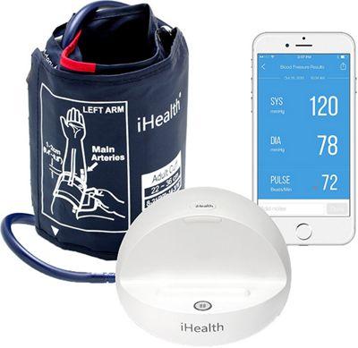 iHealth Ease Wireless Blood Pressure Monitor White - iHealth Travel Comfort and Health