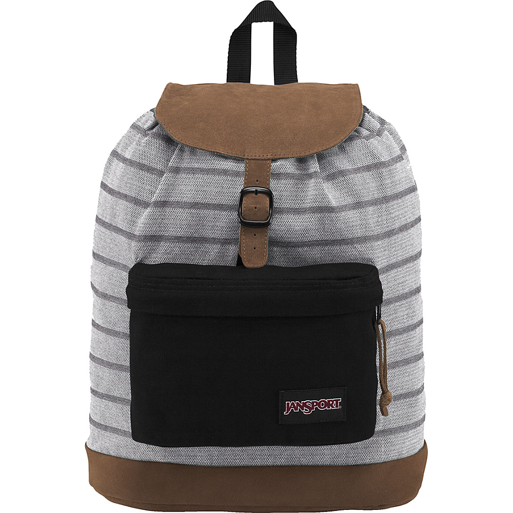JanSport Haiden Laptop Backpack Denim Weave - JanSport Laptop Backpacks
