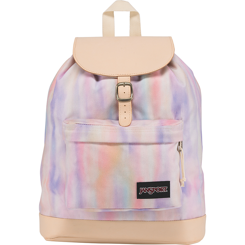 JanSport Haiden Laptop Backpack Sunkissed Pastel Poly Canvas - JanSport Laptop Backpacks