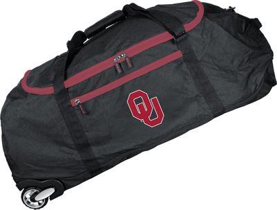 MOJO Denco NCAA 36 inch Collapsible Duffle Oklahoma - MOJO Denco Travel Duffels