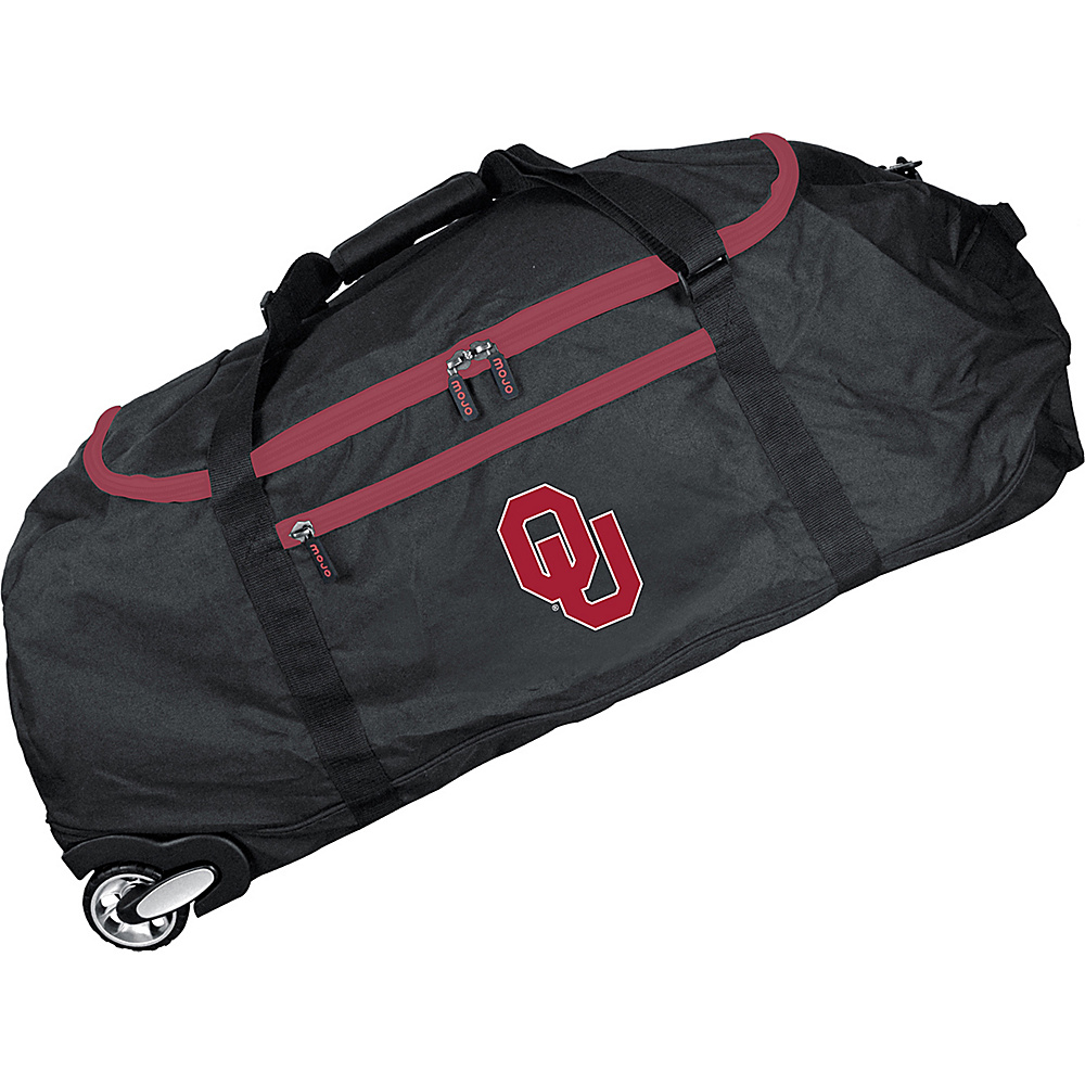 MOJO Denco NCAA 36 Collapsible Duffle Oklahoma - MOJO Denco Travel Duffels - Duffels, Travel Duffels