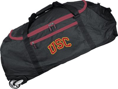 Mojo Licensing NCAA 36 inch Collapsible Duffle Southern California - Mojo Licensing Travel Duffels