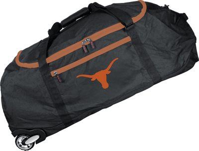 MOJO Denco NCAA 36 inch Collapsible Duffle Texas - MOJO Denco Travel Duffels