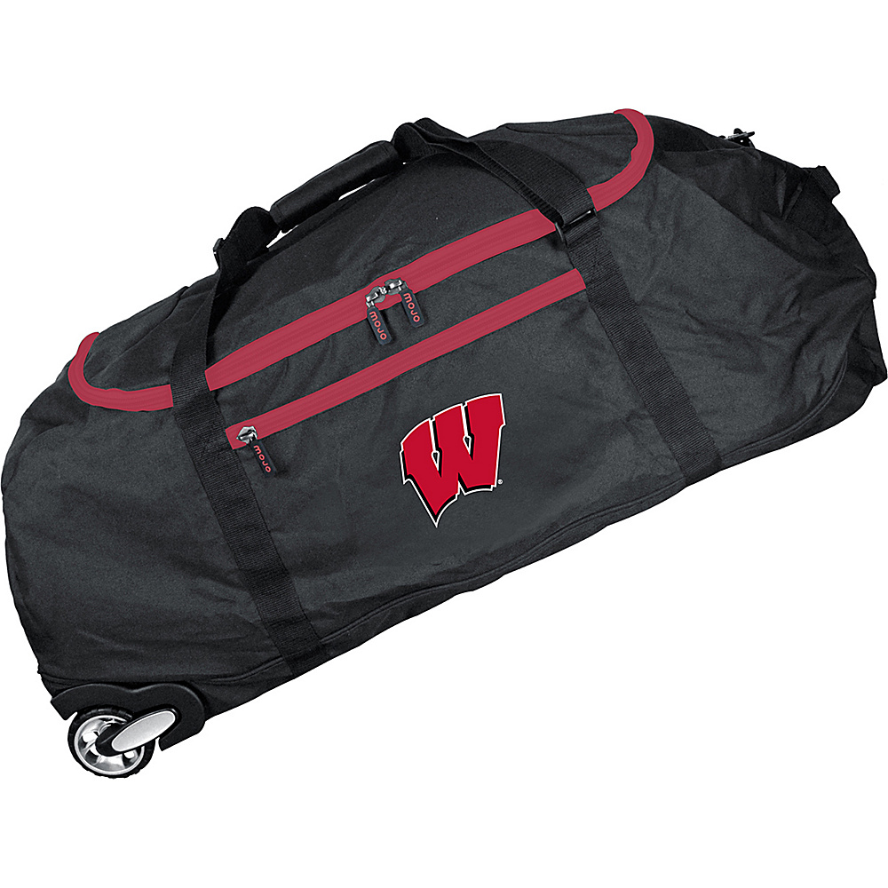 MOJO Denco NCAA 36 Collapsible Duffle Wisconsin - MOJO Denco Travel Duffels - Duffels, Travel Duffels