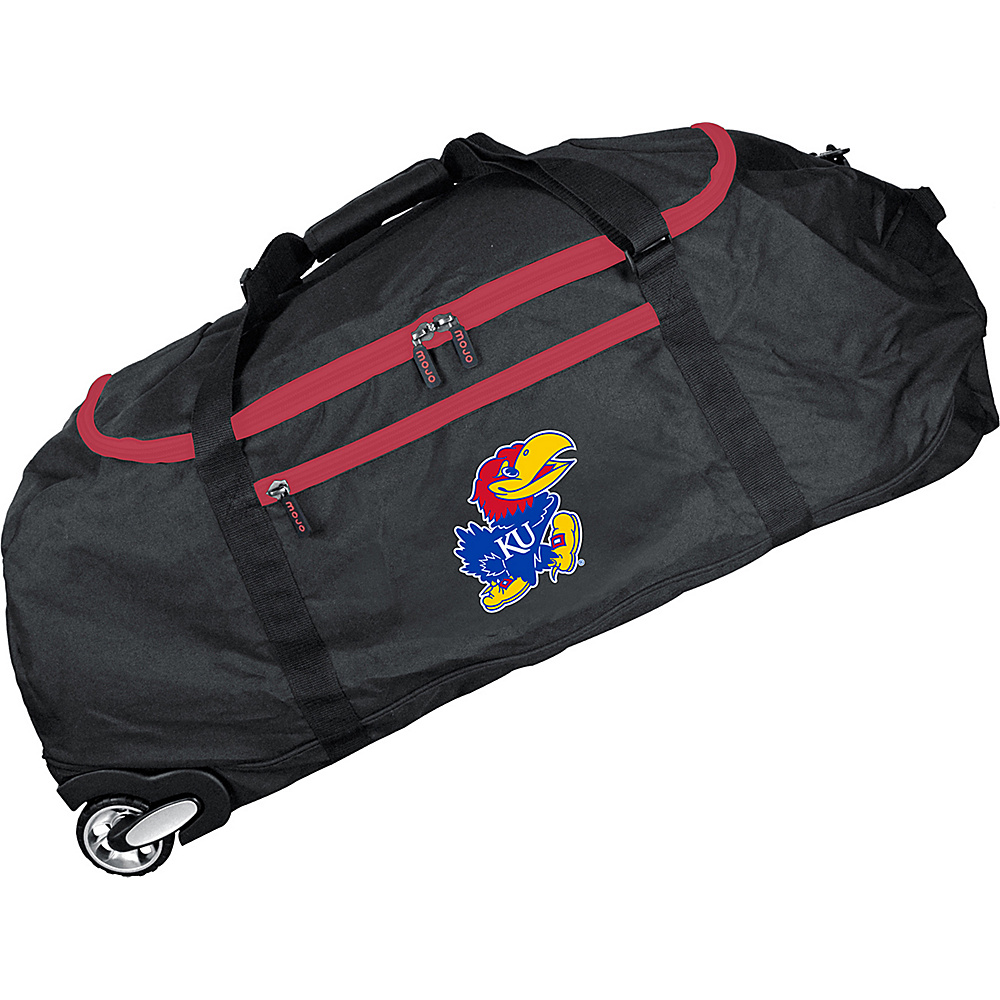 MOJO Denco NCAA 36 Collapsible Duffle Kansas - MOJO Denco Travel Duffels - Duffels, Travel Duffels