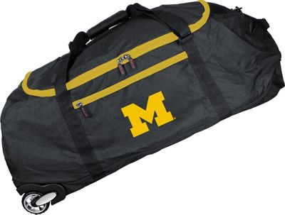 Mojo Licensing Mojo Licensing NCAA 36 inch Collapsible Duffle Michigan - Mojo Licensing Travel Duffels