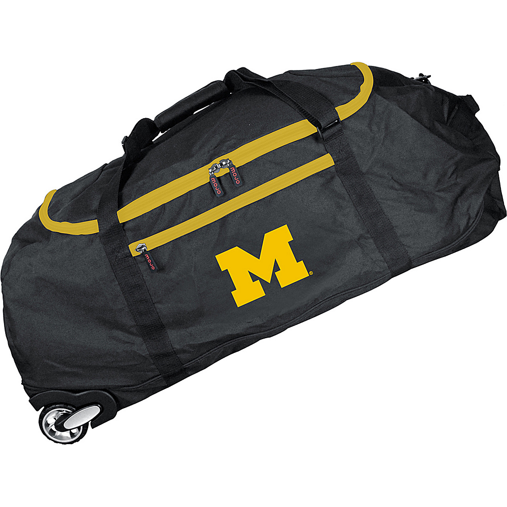 MOJO Denco NCAA 36 Collapsible Duffle Michigan - MOJO Denco Travel Duffels - Duffels, Travel Duffels