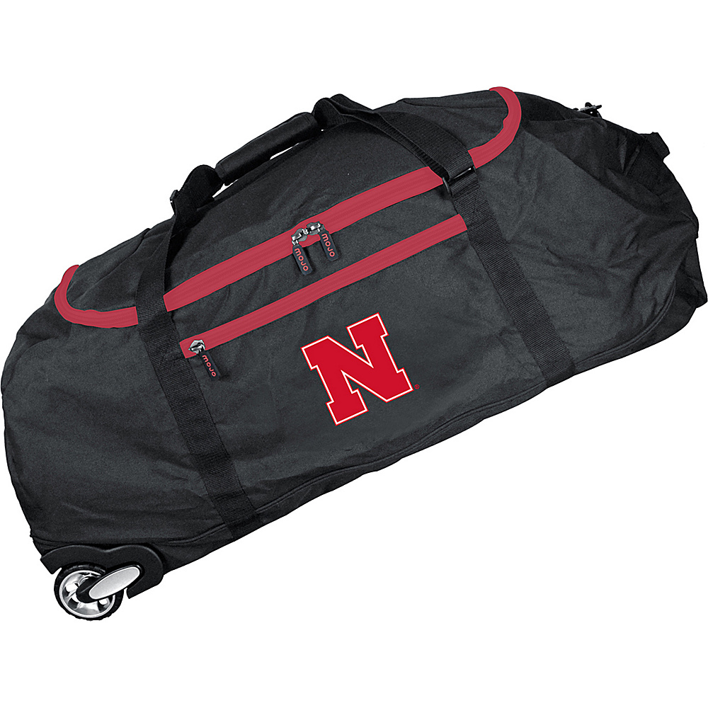 MOJO Denco NCAA 36 Collapsible Duffle Nebraska - MOJO Denco Travel Duffels - Duffels, Travel Duffels