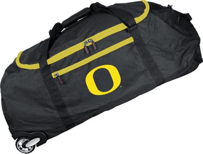 Mojo Licensing NCAA 36 inch Collapsible Duffle Oregon - Mojo Licensing Travel Duffels