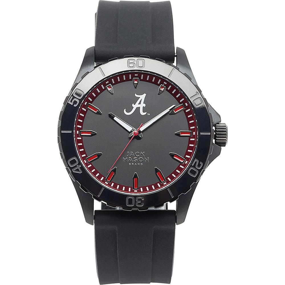 Jack Mason League NCAA Silicone Watch Alabama Crimson Tide - Jack Mason League Watches - Fashion Accessories, Watches