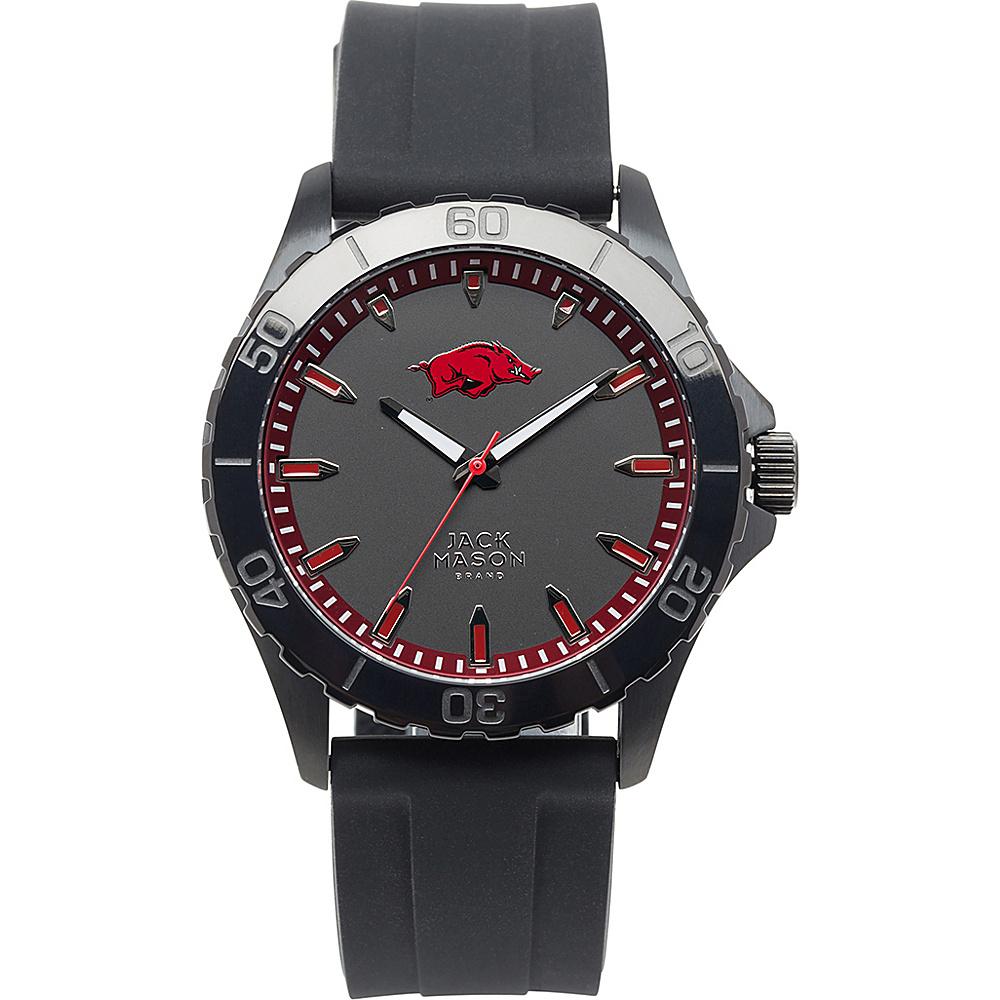 Jack Mason League NCAA Silicone Watch Arkansas Razorbacks - Jack Mason League Watches - Fashion Accessories, Watches