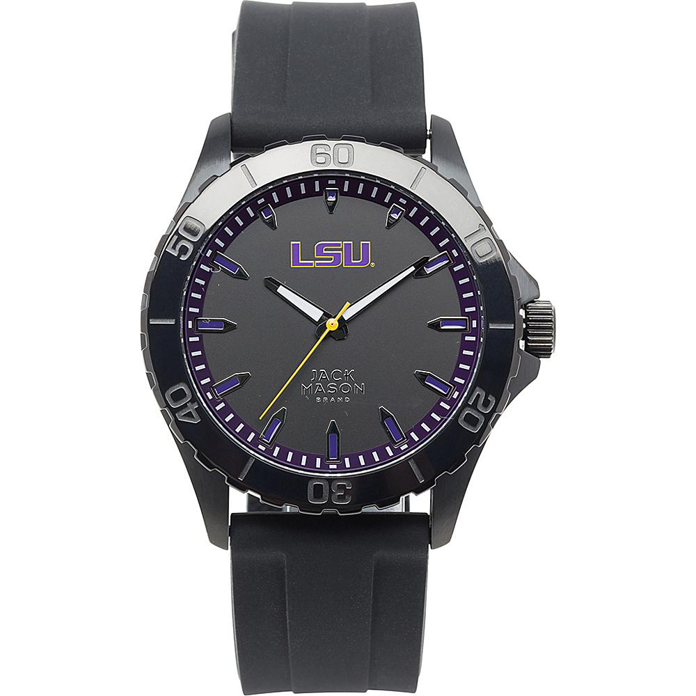 Jack Mason League NCAA Silicone Watch LSU Tigers - Jack Mason League Watches - Fashion Accessories, Watches