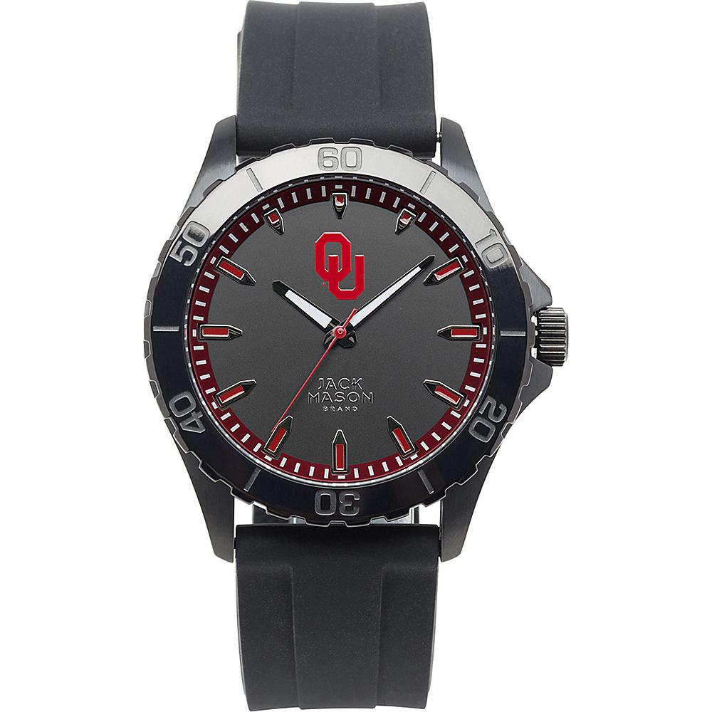 Jack Mason League NCAA Silicone Watch Oklahoma Sooners - Jack Mason League Watches - Fashion Accessories, Watches