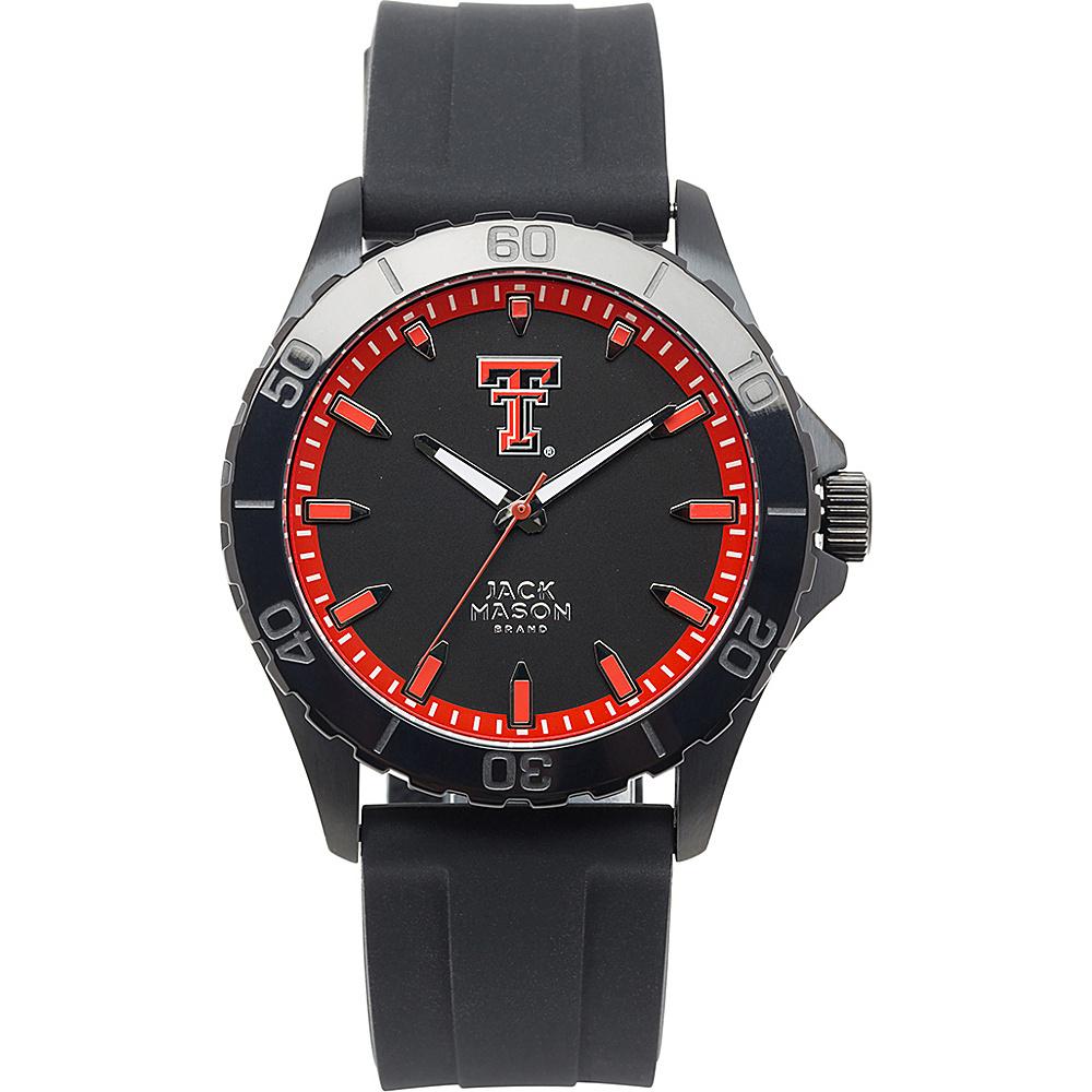 Jack Mason League NCAA Silicone Watch Texas Tech Red Raiders - Jack Mason League Watches - Fashion Accessories, Watches