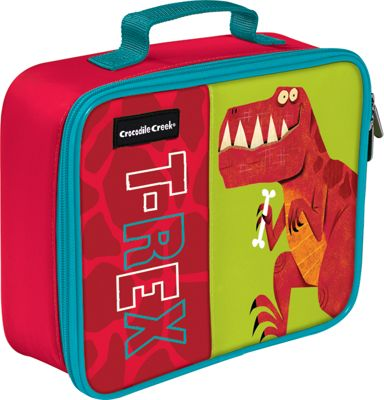 Crocodile Creek Inc T-Rex Dino Classic Lunchbox T-Rex - Crocodile Creek Inc Travel Coolers