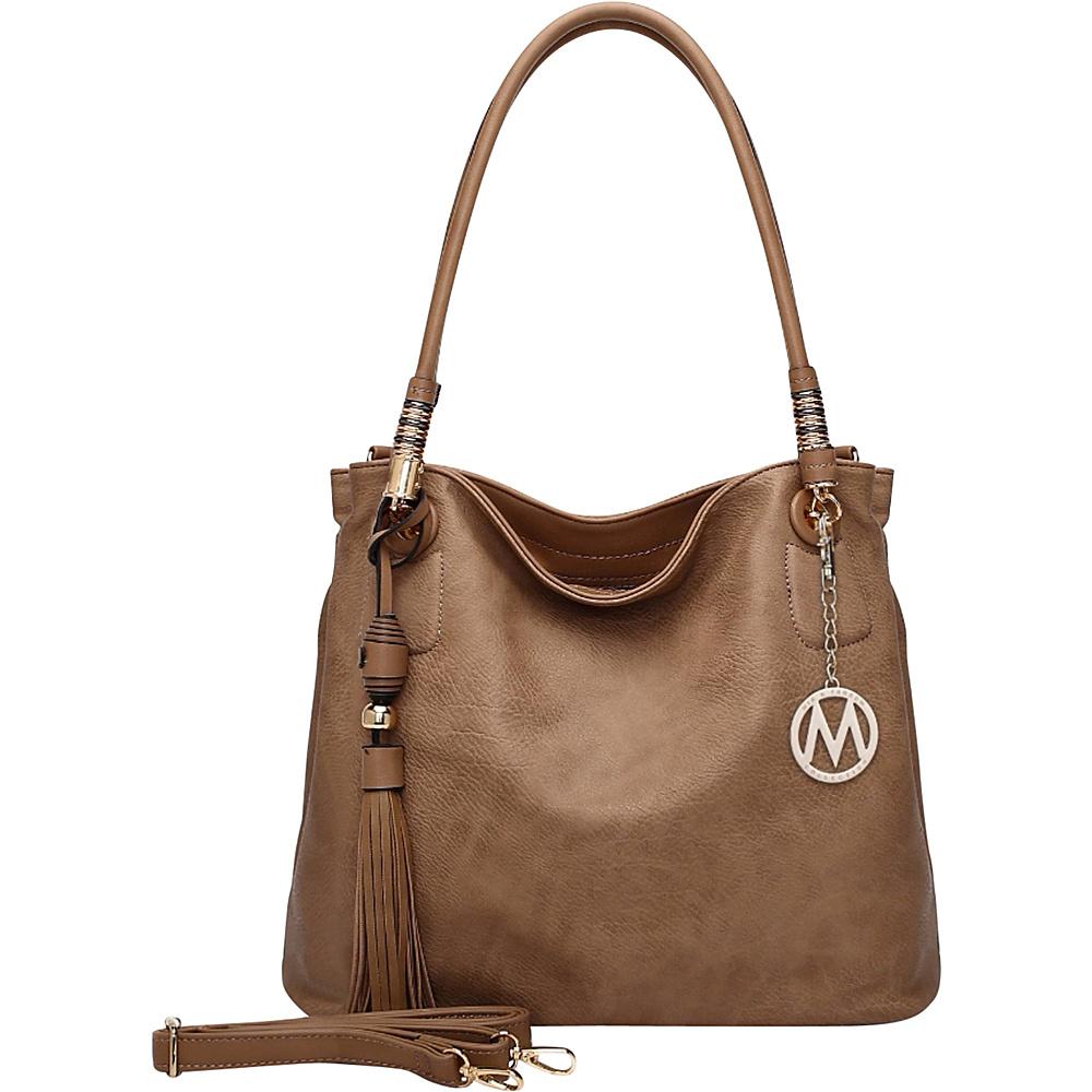 MKF Collection Fiona Hobo Soil - MKF Collection Manmade Handbags - Handbags, Manmade Handbags