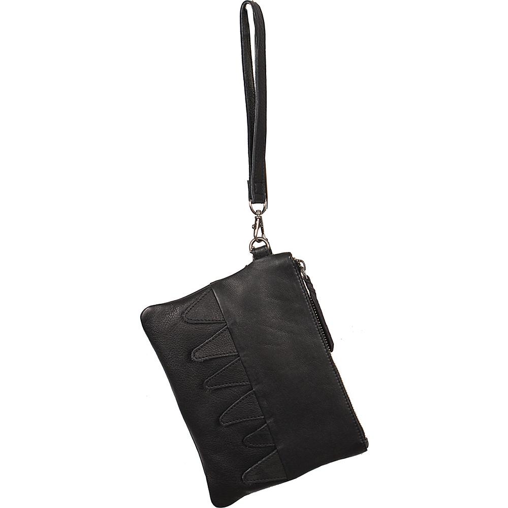 Latico Leathers Billy Clutch Black - Latico Leathers Leather Handbags - Handbags, Leather Handbags