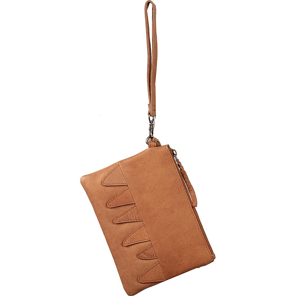 Latico Leathers Billy Clutch Tan - Latico Leathers Leather Handbags - Handbags, Leather Handbags