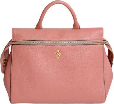 Gregory Sylvia McCarron Satchel Antique Rose - Gregory Sylvia Leather Handbags