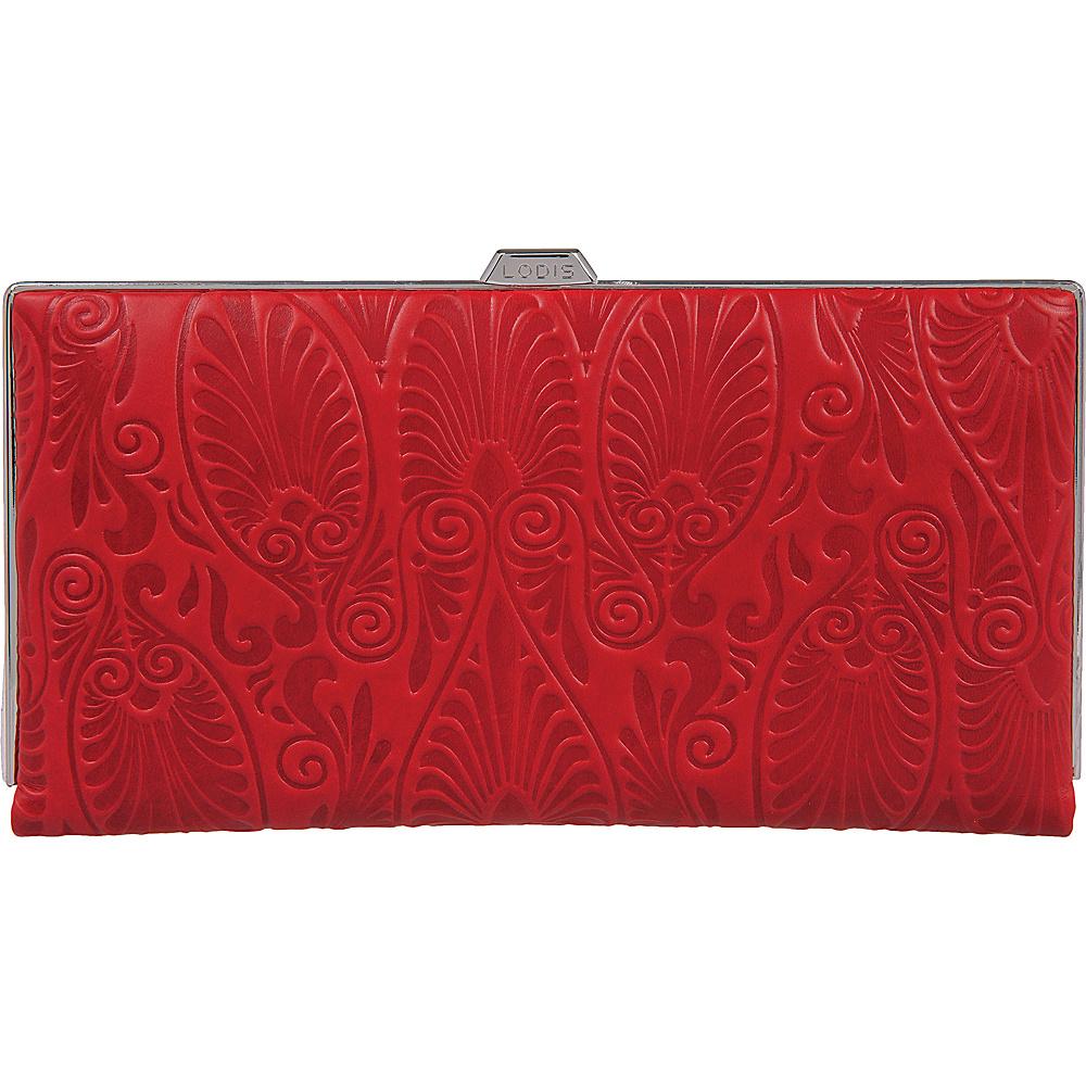 Lodis Denia Quinn Clutch Wallet Red - Lodis Womens Wallets - Women's SLG, Women's Wallets