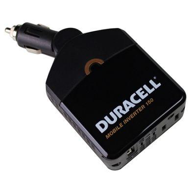 Duracell 150 Watt Compact Mobile Inverter Black - Duracell Trunk and Transport Organization