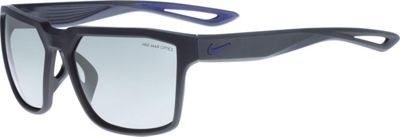Nike Sunglasses Bandit Sunglasses Matte Obsidian/Deep Royal Blue - Nike Sunglasses Eyewear