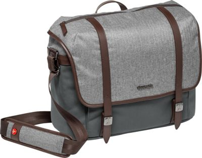 Manfrotto Bags Large Messenger Windsor Grey - Manfrotto Bags Camera Cases